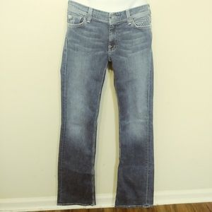 7 For All Mankind Dojo Jeans size 29 Flare Bootcut